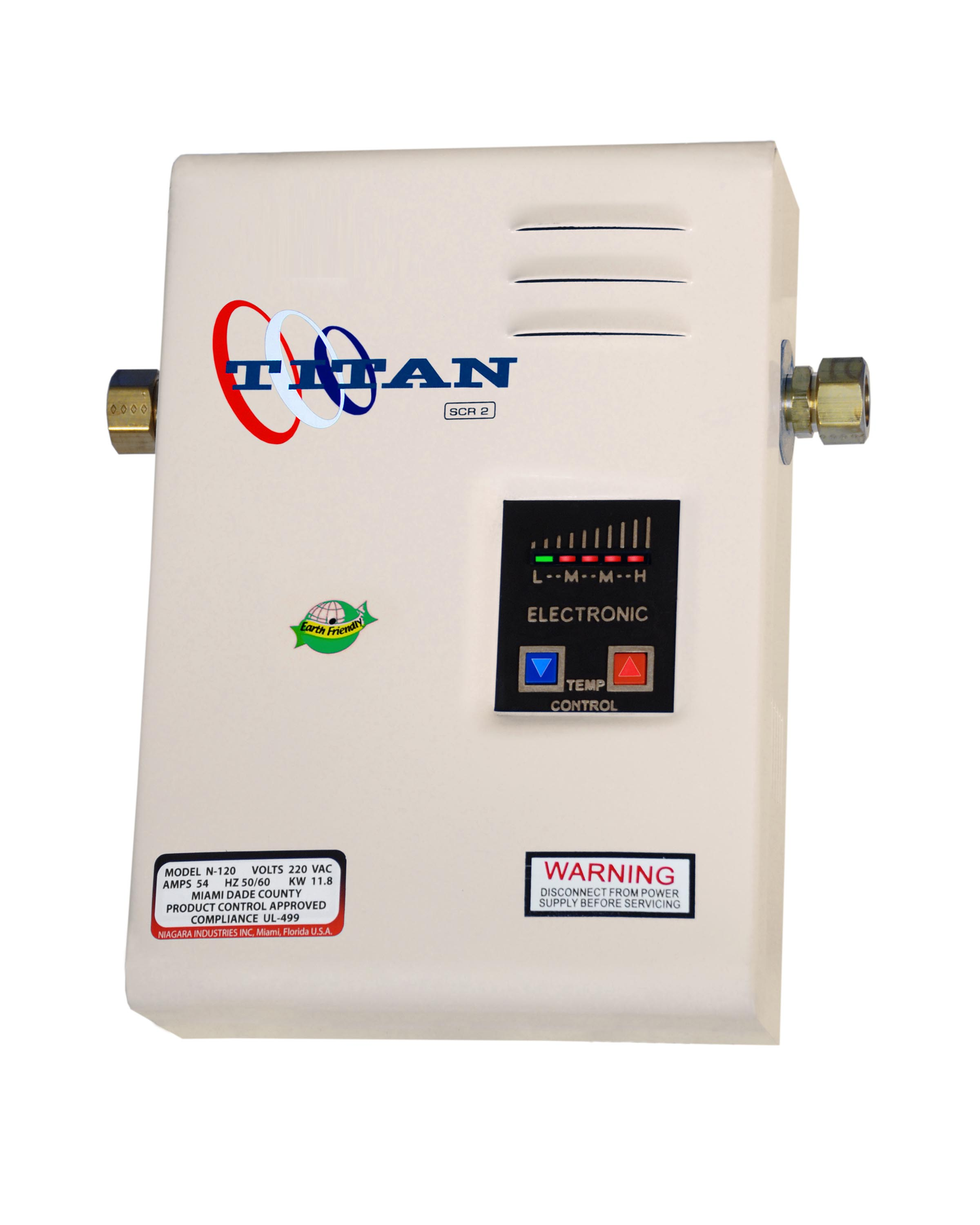Titan®-SCR2 Electronic Digital Tankless Water Heater